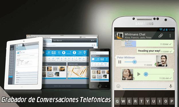 grabador de conversaciones telefónicas